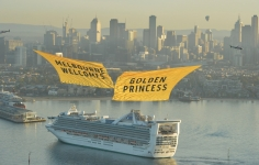 Golden Princess Ship Reveal